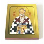 Святитель Георгий, епископ Антиохийский, икона на доске 13*16,5 см - Иконы