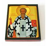 Святитель Георгий, епископ Антиохийский, печать на доске 13*16,5 см - Иконы