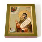 Благоверный князь Даниил Московский, икона на доске 13*16,5 см - Иконы