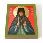 Преподобномученица Ева Павлова, игумения, икона на доске 13*16,5 см - Иконы
