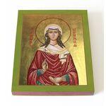 Мученица Елисавета Адрианопольская, икона на доске 13*16,5 см - Иконы