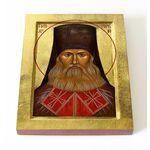 Преподобный Исаакий I Оптинский, Антимонов, икона на доске 13*16,5 см - Иконы