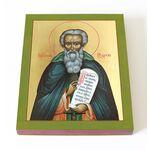Преподобный Мартин Туровский, икона на доске 13*16,5 см - Иконы
