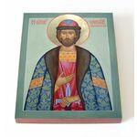 Мученик Меркурий Смоленский, икона на доске 13*16,5 см - Иконы