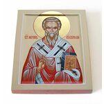Святитель Мирон Критский, печать на доске 13*16,5 см - Иконы