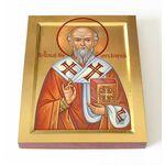 Преподобный Нифонт, епископ Кипрский, икона на доске 13*16,5 см - Иконы