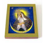 Икона Божией Матери Остробрамская Виленская, доска 13*16,5 см - Иконы