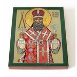 Священномученик Петр, митрополит Крутицкий, печать на доске 13*16,5 см - Иконы