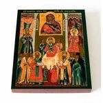 Положение Честной ризы Пресвятой Богородицы во Влахерне, 13*16,5 см - Иконы