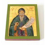 Преподобный Иоанн Кассиан Римлянин, икона на доске 13*16,5 см - Иконы