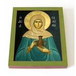 Святая Саломия Мироносица, икона на доске 13*16,5 см - Иконы
