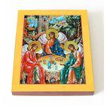 Святая Троица, доска 13*16,5 см - Иконы