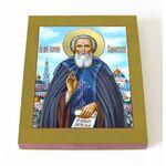 Преподобный Сергий Радонежский, печать на доске 13*16,5 см - Иконы