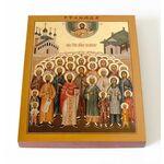 Собор Китайских мучеников, икона на доске 13*16,5 см - Иконы