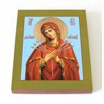 """Икона Божией Матери """"Умягчение злых сердец"""", 13*16,5 см - Иконы"""