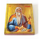 Праведный Филарет Милостивый, икона на доске 13*16,5 см - Иконы