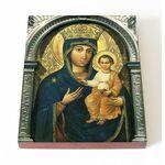 """Юровичская икона Божией Матери """"Милосердная"""", на доске 13*16,5 см - Иконы"""