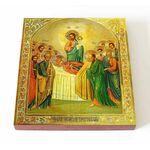 Успение Пресвятой Богородицы, икона на доске 14,5*16,5 см - Иконы