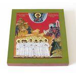Мученики 14000 младенцев, от Ирода в Вифлееме избиенные, 14,5*16,5 см - Иконы
