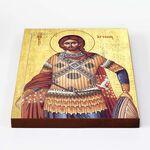 Великомученик Артемий Антиохийский, икона на доске 20*25 см - Иконы