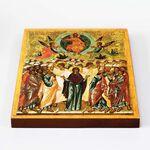 Вознесение Господне, икона на доске 20*25 см - Иконы