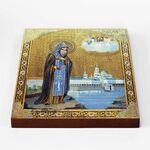 Преподобный Нил Столобенский, икона на доске 20*25 см - Иконы