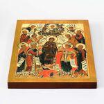 Похвала Пресвятой Богородицы, икона на доске 20*25 см - Иконы