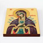 Икона Божией Матери «Семистрельная», доска 20*25 см - Иконы