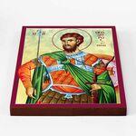 Великомученик Феодор Тирон, икона на доске 20*25 см - Иконы