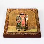 Святитель Феодосий Черниговский, икона на доске 20*25 см - Иконы