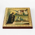 Преподобный Нил Столобенский, икона на доске 22*25 см - Иконы