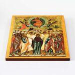 Вознесение Господне, икона на доске 30*36 см - Иконы