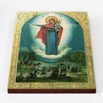Августовская икона Божией Матери, печать на доске 30*40 см - Иконы