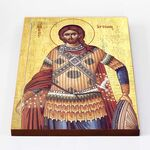 Великомученик Артемий Антиохийский, икона на доске 30*40 см - Иконы
