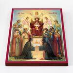 Похвала Пресвятой Богородицы, Киевская, икона на доске 30*40 см - Иконы