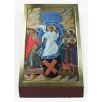 Воскресение Христово, печать на доске 7*13 см - Иконы