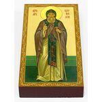 Преподобномученик Корнилий Псково-Печерский, икона на доске 7*13 см - Иконы