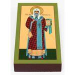Святитель Михаил, митрополит Киевский, икона на доске 7*13 см - Иконы