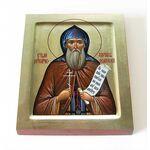Преподобномученик Адриан Ондрусовский, икона на доске 8*10 см - Иконы