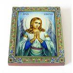 Ангел Хранитель, икона на доске 8*10 см - Иконы