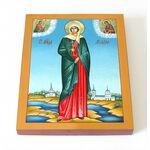 Мученица Ариадна Промисская, Фригийская, икона на доске 8*10 см - Иконы