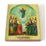 Вознесение Господне, икона на доске 8*10 см - Иконы