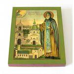 Преподобный Ефрем Перекомский, Новгородский, икона на доске 8*10 см - Иконы