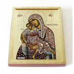 """Киккская икона Божией Матери """"Милостивая"""", доска 8*10 см - Иконы"""