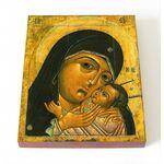 Корсунская икона Божией Матери, печать на доске 8*10 см - Иконы