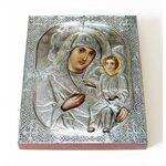 Любечская икона Божией Матери, печать на доске 8*10 см - Иконы