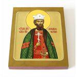 Благоверный князь Михаил Черниговский, икона на доске 8*10 см - Иконы