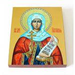 Мученица Наталия Никомидийская, икона на доске 8*10 см - Иконы