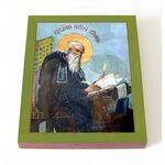 Преподобный Нестор Летописец, Печерский, икона на доске 8*10 см - Иконы