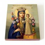 """Икона Божией Матери """"Неувядаемый Цвет"""", на доске 8*10 см - Иконы"""